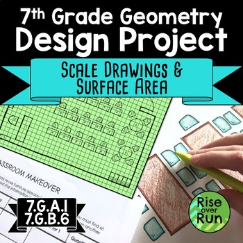 Scale and Surface Area Project, Editable