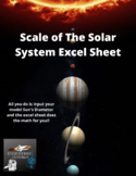 Scale of the Solar System (Excel)