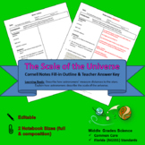 Scale of the Universe Cornell Notes #10 (editable)