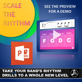 Scale the Rhythm - PowerPoint Warmup