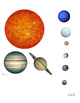Scaled Model of the Solar System