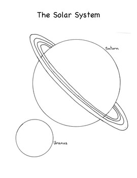 Scaled Solar System Drawings