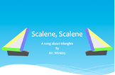 Scalene, Scalene--A song about triangles