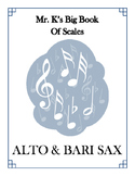 Scales - Alto/Bari Sax - With Fingering Diagrams