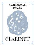 Scales - Clarinet - With Fingering Diagrams