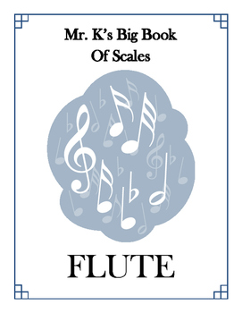 Scales - Flute - With Fingering Diagrams