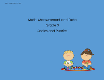 Scales and Rubrics for 3rd Grade MD Standards