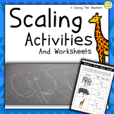 Scaling Up Activity Pack: Worksheets + Outdoor Activities