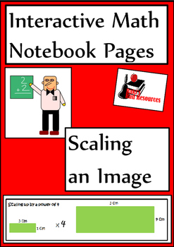Scaling an Image Lesson for Interactive Math Notebooks
