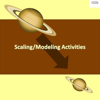 Scaling/Modeling Planet Size Activities