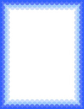 Scallop Border Set {Personal & Commercial Use}