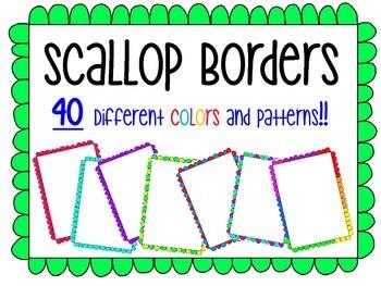 Scallop Borders