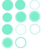 Scallop Circles SVG