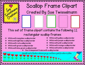 Scallop Frames