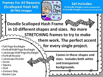 Frames for All Reasons {Scallop Hash}