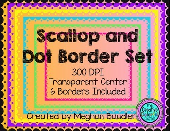 Scallop and Dot Borders
