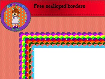 Scalloped page borders