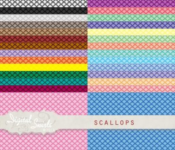 Scallops Backgrounds