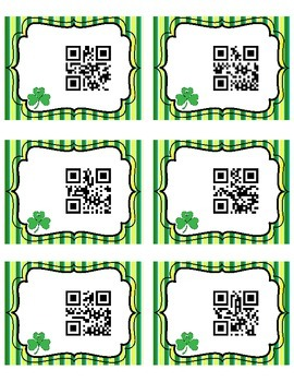 Scan It, Read It, Write It QR Code Sight Words