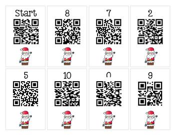 Scan It, Solve It, Write It! QR code Scavenger Hunt - December