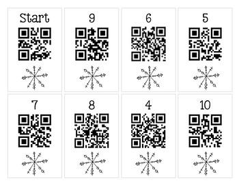 Scan It, Solve It, Write It! QR code Scavenger Hunt - January