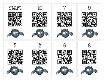 Scan It, Solve It, Write It! QR code Scavenger Hunt - October
