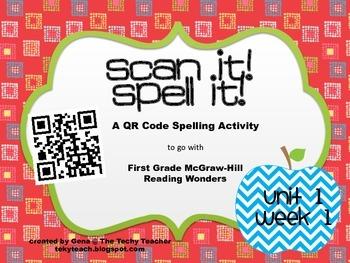 Scan It, Spell It QR Code Activity - McGraw-Hill Wonders
