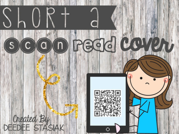 Scan, Read & Cover -- Short Vowel A