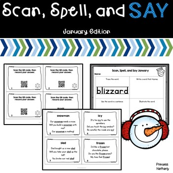 Scan, Spell, and Say January