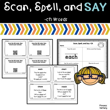 Scan, Spell, and Say ch Words