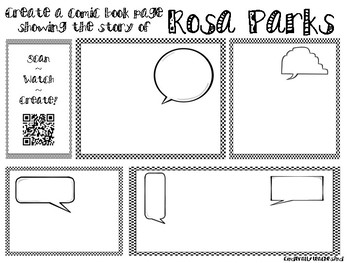 Scan-Watch-Create Rosa Parks