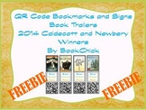 Scan, Watch, Read 2014 Caldecott and Newbery QR Code Book Trailers (Freebie)