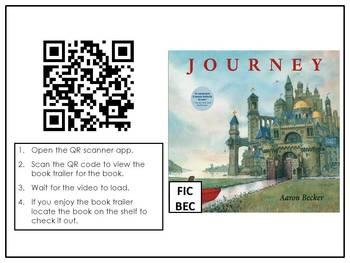 Scan, Watch, Read 2014 Caldecott and Newbery QR Code Book Trailers (Freebie)