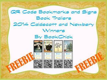 Scan, Watch, Read 2014 Caldecott and Newbery QR Code Book