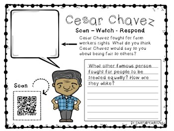 Scan - Watch - Respond Cesar Chavez