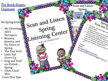 Scan and Listen Spring Listening Center