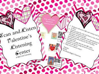 Scan and Listen Valentine's Listening Center