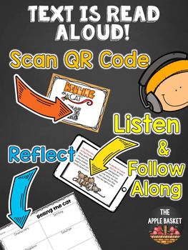 Scan and Read Mini Book for Second and Third Graders (Belling the Cat Fable)