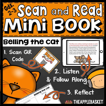 Scan and Read Mini Book for Second and Third Graders (Bell