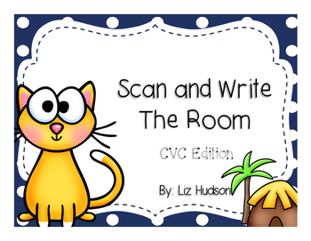 Scan and Write the Room CVC Edition (QR Codes)
