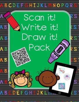 Scan it, Write it, Draw it Pack!