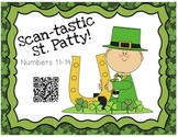 Scan-tastic QR Codes Numbers 11-19  (St. Patty)