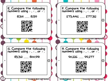 Scan the Room: NBT {5 Common Core Aligned Sets with QR Codes}