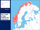 Scandinavia Map Activity- fun, engaging, follow-along 24-slide PPT