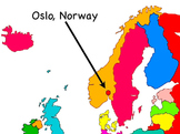 """Scandinavia Song"" Movie/Video from ""Geography Songs"" Kathy Troxel Audio Memory"