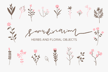 Scandinavian - Herbs and Florals