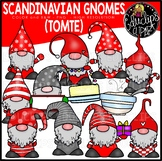 Scandinavian Holiday Gnomes Clip Art Set {Educlips Clipart}