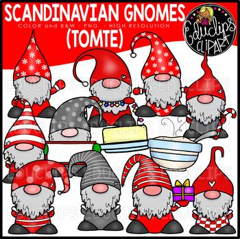 Christmas Gnomes Clipart.Gnome Christmas Worksheets Teaching Resources Tpt