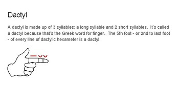 Scansion Review for Book I, lines 1-11 of Vergil's Aeneid