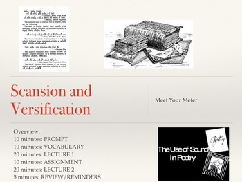 Scansion/Versification